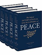 The Oxford international encyclopedia of peace