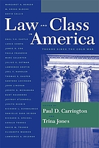 Law and class in America : trends since the Cold War