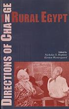 People and pollution : cultural constructions and social action in Egypt