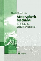 Atmospheric methane : its role in the global environment