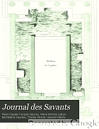 Journal des savants.