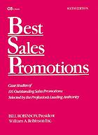 Best sales promotions : 6th volume
