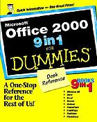 Microsoft Office 2000 9 in 1 for dummies : desk reference