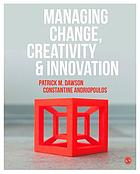 Managing change, creativity & innovation
