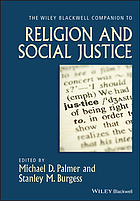 The Wiley-Blackwell Companion to Religion and Social Justice.