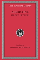 St. Augustine, select letters