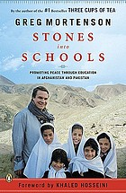 Stones into schools : promoting peace through education in Afghanistan and Pakistan