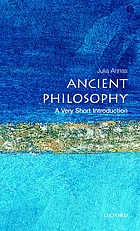 Ancient philosophy : a very short introduction