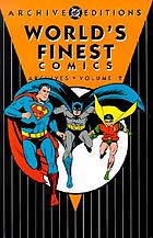 World's finest comics archives.