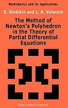 The method of Newton's polyhedron in the theory of partial differential equations