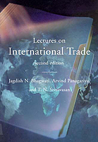 Lectures on international trade.
