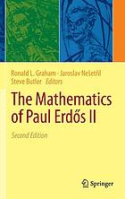 The mathematics of Paul Erdős II