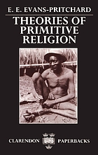 Theories of primitive religion,