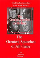 The greatest speeches of all time. Part 1