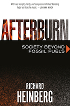 Afterburn : society beyond fossil fuels