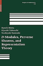 D-modules, perverse sheaves, and representation theory