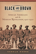 Black and brown : African Americans and the Mexican Revolution, 1910-1920