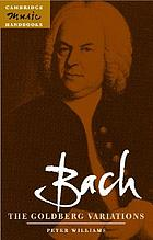 Bach, the Goldberg variations