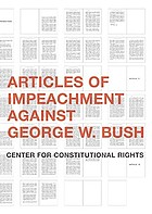 Articles of impeachment against George W. Bush
