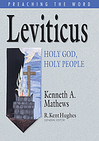 Leviticus : holy God, holy people