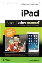 IPad : the missing manual