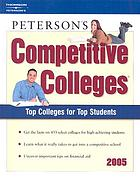 Peterson's competitive colleges.