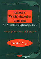 Handbook of win-win policy analysis