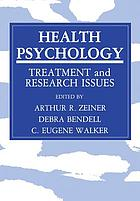 Health Psychology : Treatment and Research Issues