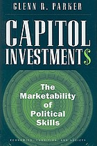 Capitol investments : the marketability of political skills