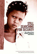 Still searching for security : the reality of farm dweller evictions in South Africa