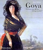 Goya : to every story there belongs another