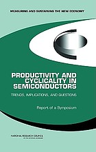 Productivity and cyclicality in semiconductors : trends, implications, and questions ; report of a symposium