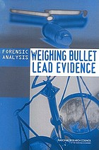 Forensic analysis : weighing bullet lead evidence