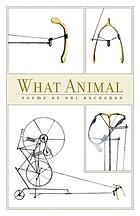 What animal : poems