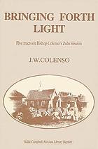 Bringing forth light : five tracts on Bishop Colenso's Zulu mission