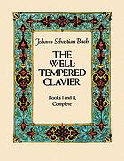 The Well-tempered clavier : books I and II, complete