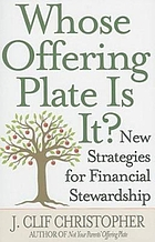 Whose offering plate is it? : new strategies for financial stewardship