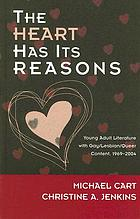 The heart has its reasons : young adult literature with gay/lesbian/queer content, 1969-2004