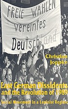 East German dissidents and the revolution of 1989 : social movement in a Leninist regime