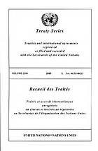 Treaty series : treaties and international agreements registered or filed and recorded with the Secretariat of the United Nations. Volume 2589