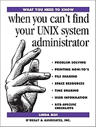 When you can't find your UNIX system administrator
