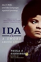 Ida : a sword among lions : Ida B. Wells and the campaign against lynching