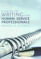 Guide to Writing for Human Service Professionals cover image