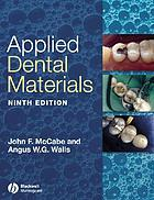 Applied dental materials.