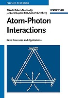 Atom-photon interactions : basic processes and applications