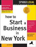 How to start a business in New York