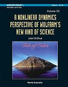 A nonlinear dynamics perspective of Wolfram's new kind of science. / Volume III
