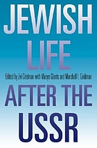 Jewish life after the USSR