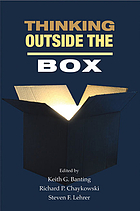 Thinking outside the box : innovation in policy ideas : essays in honour of Thomas J Courchene