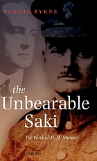 The unbearable Saki : the work of H.H. Munro
